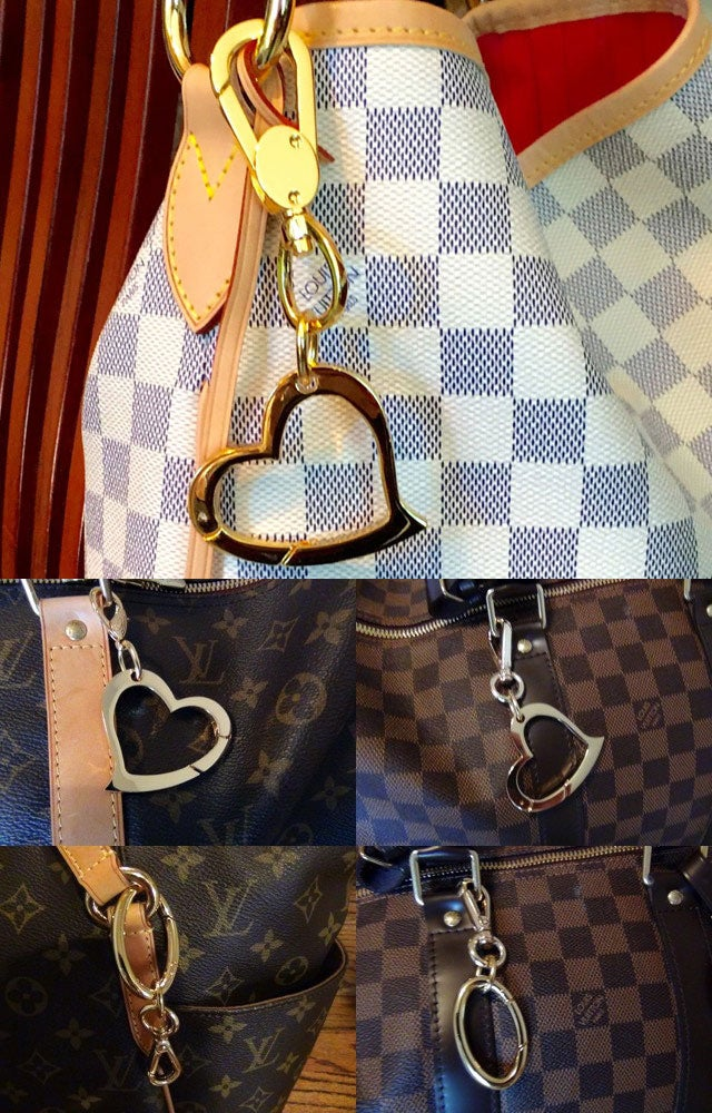 Image of Handbag Accessories - Bag Charms, Accessory Clips, Key Holders/Fobs - Gold & Nickel-Silver Finishes