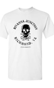 "Image of ON SALE! ""Rivanna Junction"" T-Shirt / WHITE"