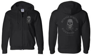 "Image of ON SALE! ""Rivanna Junction"" ZIP UP Hood."