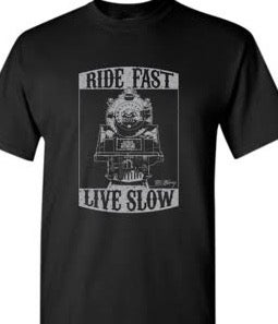 """Image of """"Ride Fast, Live Slow"""" T-Shirt"""