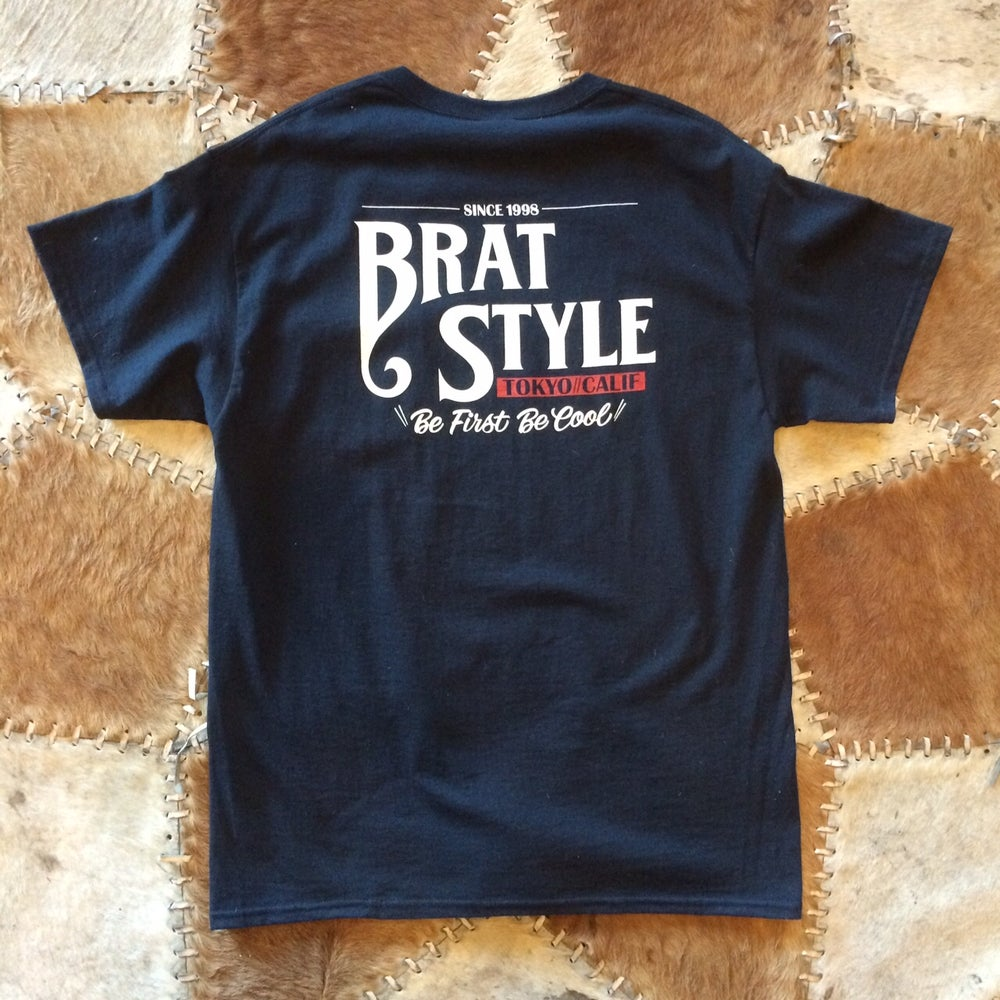 Image of BRATSTYLE T-SHIRT with pocket BLACK