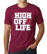 Image of 2015 High Off Life T-Shirt (Cardinal Red)