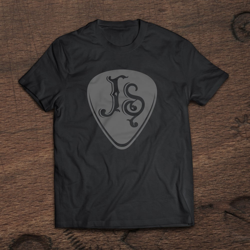 Image of Joshua Surgeon Guitar Pick (Unisex T-shirt)