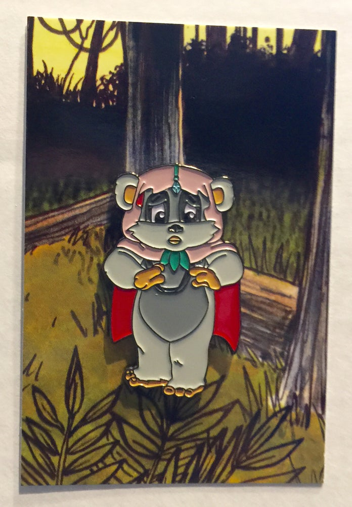 "Image of Ewoks Cartoon 1.5"" Lapel Pin - 5 designs to choose from"