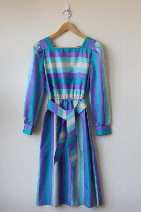 Image of Purple Skies Dress