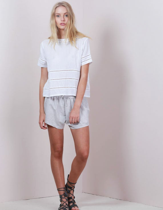 Image of LILYA Ace Linen Shorts