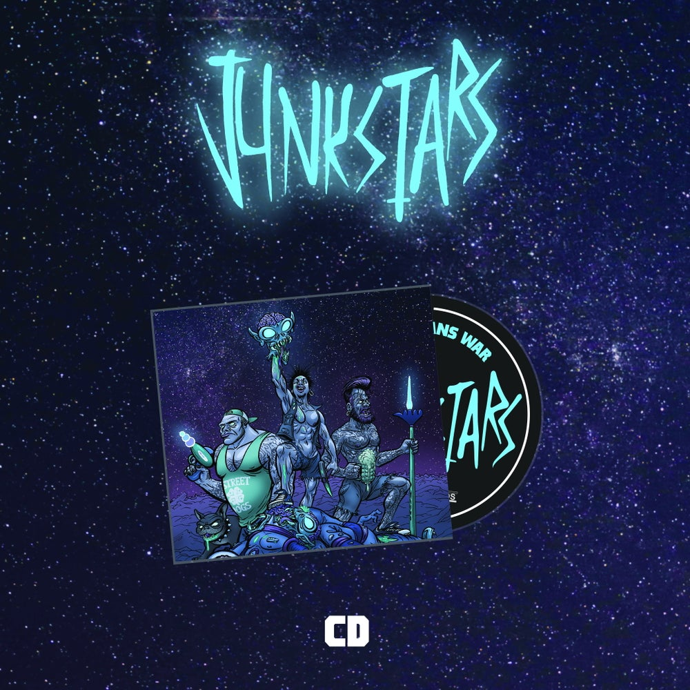 Image of Junkstars - This Means War (CD)
