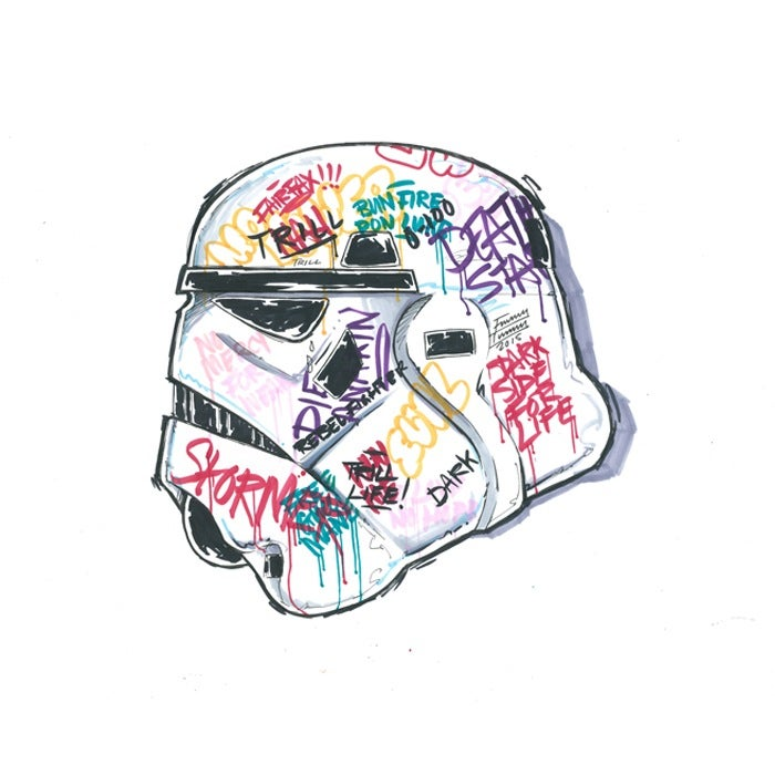 Image of STORM TAGGER *PRINT*