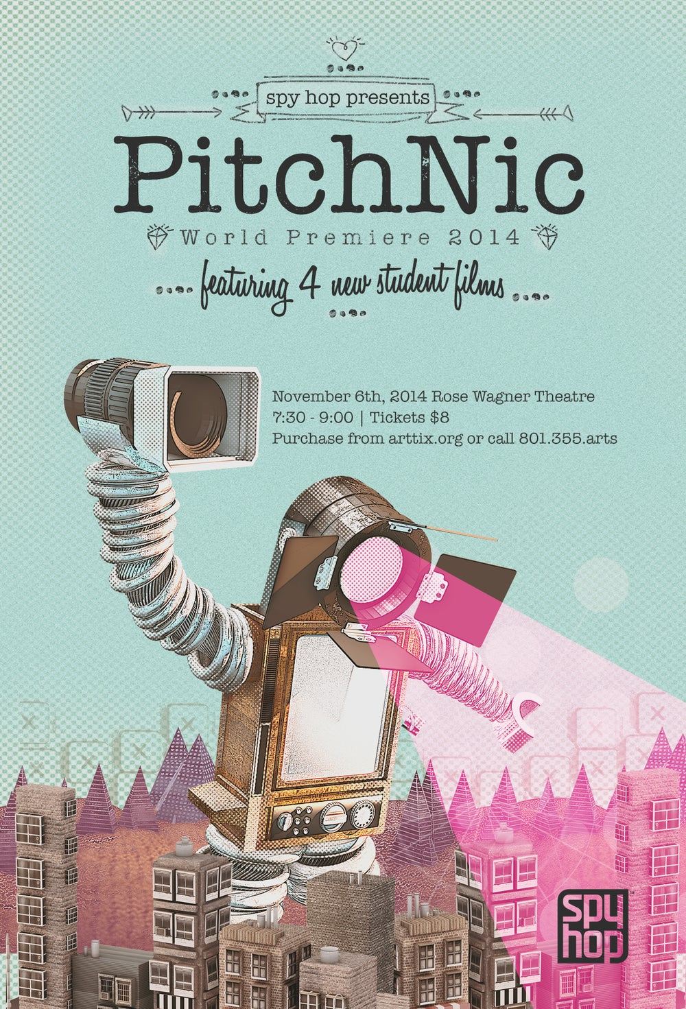 Image of 2014 PitchNic DVD