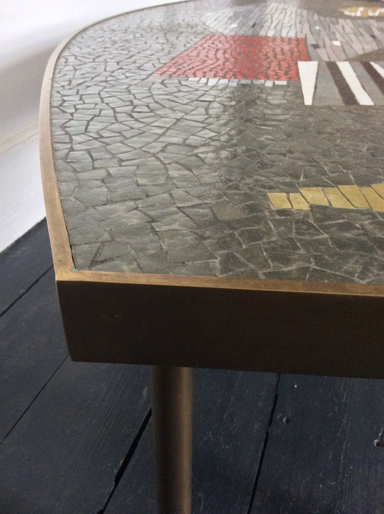 Image of Abstract Mosaic Coffee Table