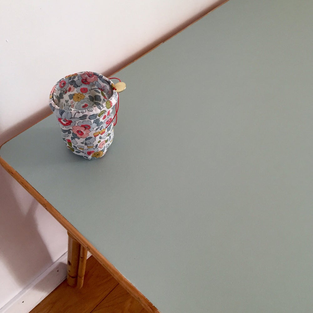 Image of Louise, table basse en rotin