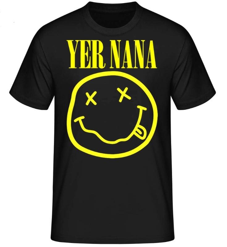 Image of Black Yer Nana Tshirt