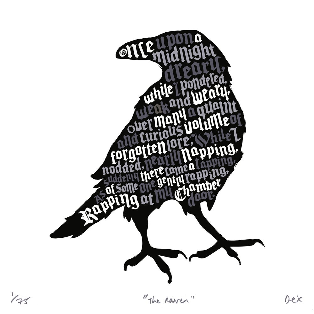 Image of The Raven (White, 2015)