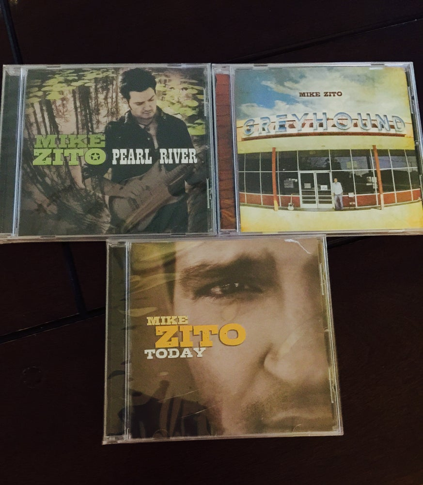 Image of MIKE ZITO 3 CD SALE!
