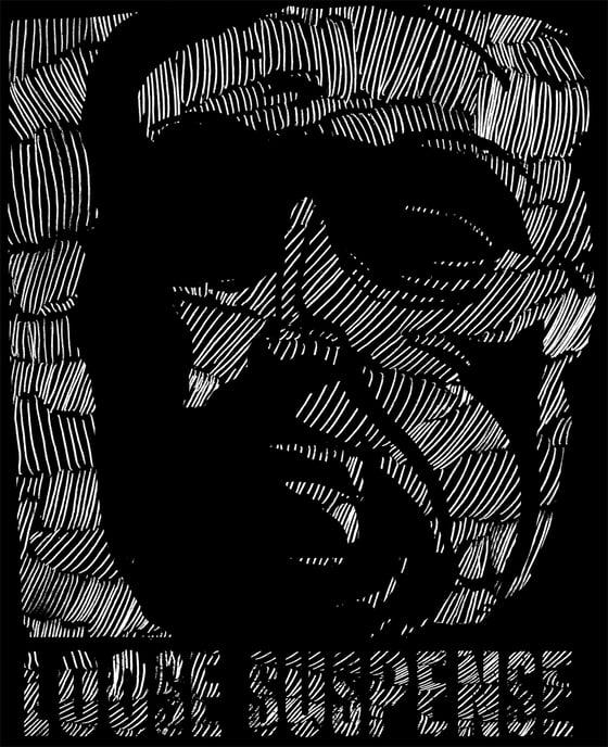 Image of Loose Suspense -Face Shirt