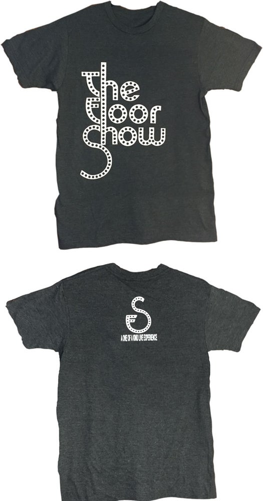 Image of Men's Tee - Dark Grey/White Logo