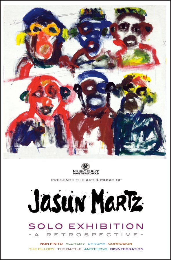 Image of <b>Jasun Martz artist poster from Milan, Italy. Personally autographed.</b>
