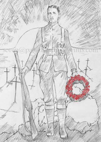 Image of Lest We Forget.... 1914 ~ 1918