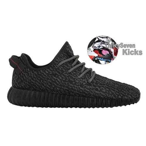 Image of Adidas Yeezy Boost 350 (Black)