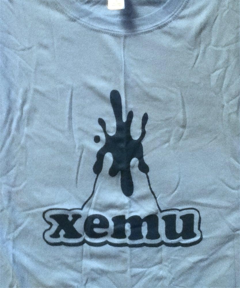 Image of Xemu Records tee shirt