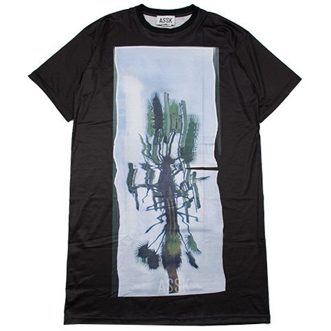 Image of CELL TOWER X-Long T-Shirt - Black
