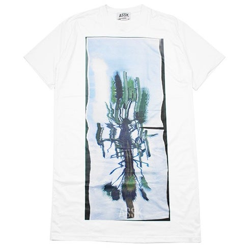 Image of CELL TOWER X-Long T-Shirt - White
