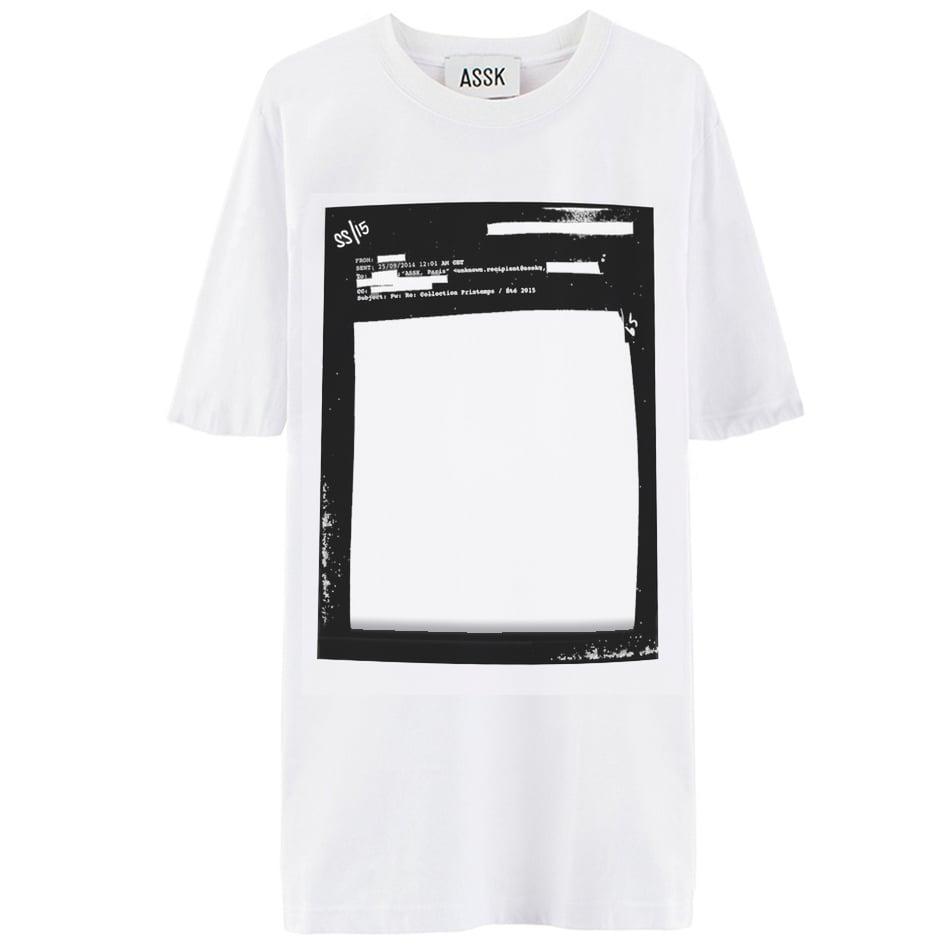 Image of CENSORED T-shirt - White