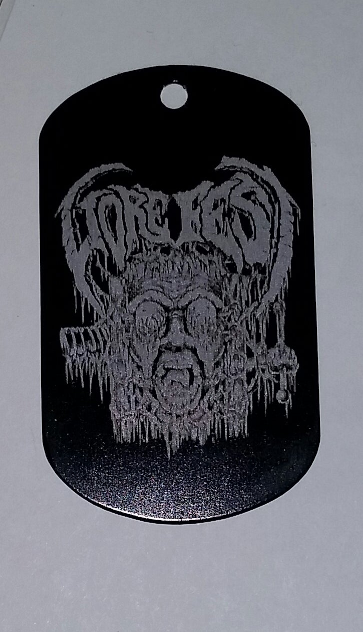 Image of GOREFEST 2015 DOG TAG