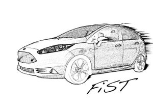 Image of FiST, Fiesta ST inspired awesome