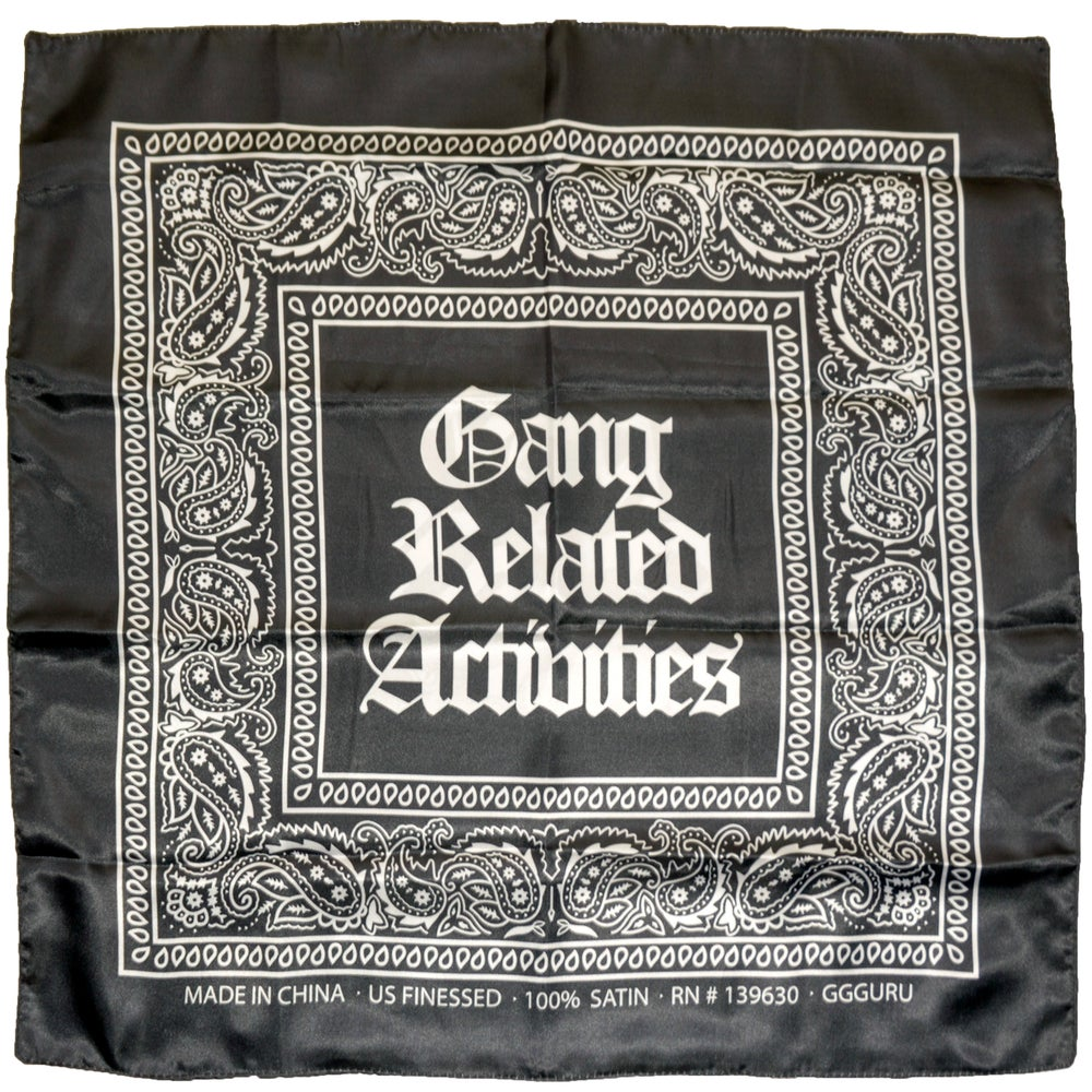 Image of GGGang Bandana | Black