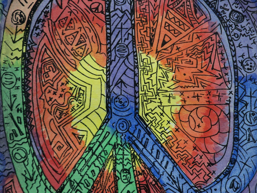 """Image of """"Untitled Peace"""""""