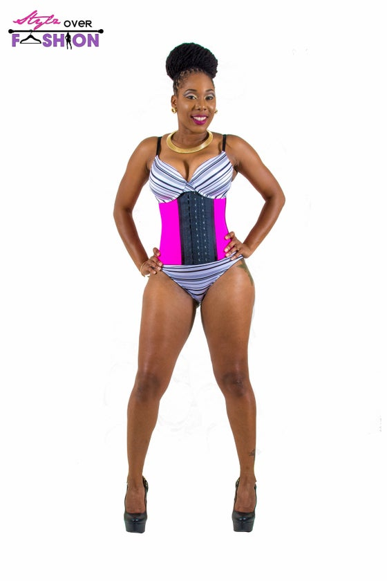 Image of NEW 3 Hook Sports Waist Cincher