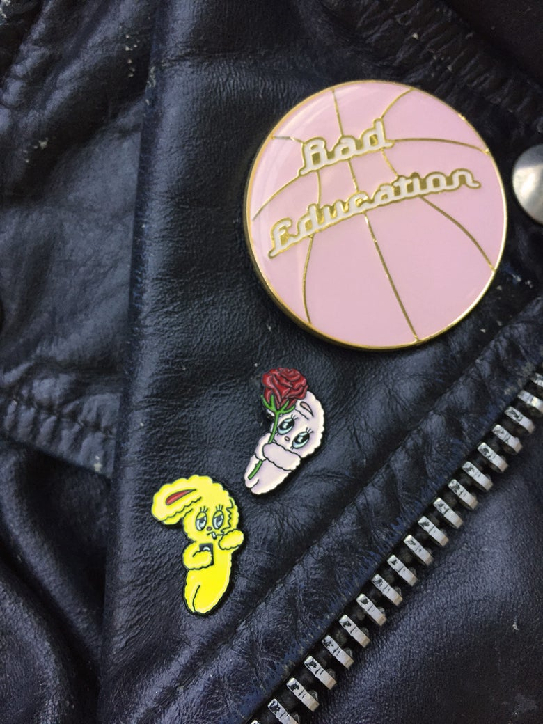 Image of bad bunny pin