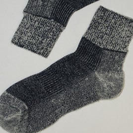 Image of SHORT WORK SOCKS! - WOOL BLEND! - 3pair