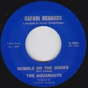 "Image of 7"" The Aquanauts : Rumble On The Docks / Bombora."