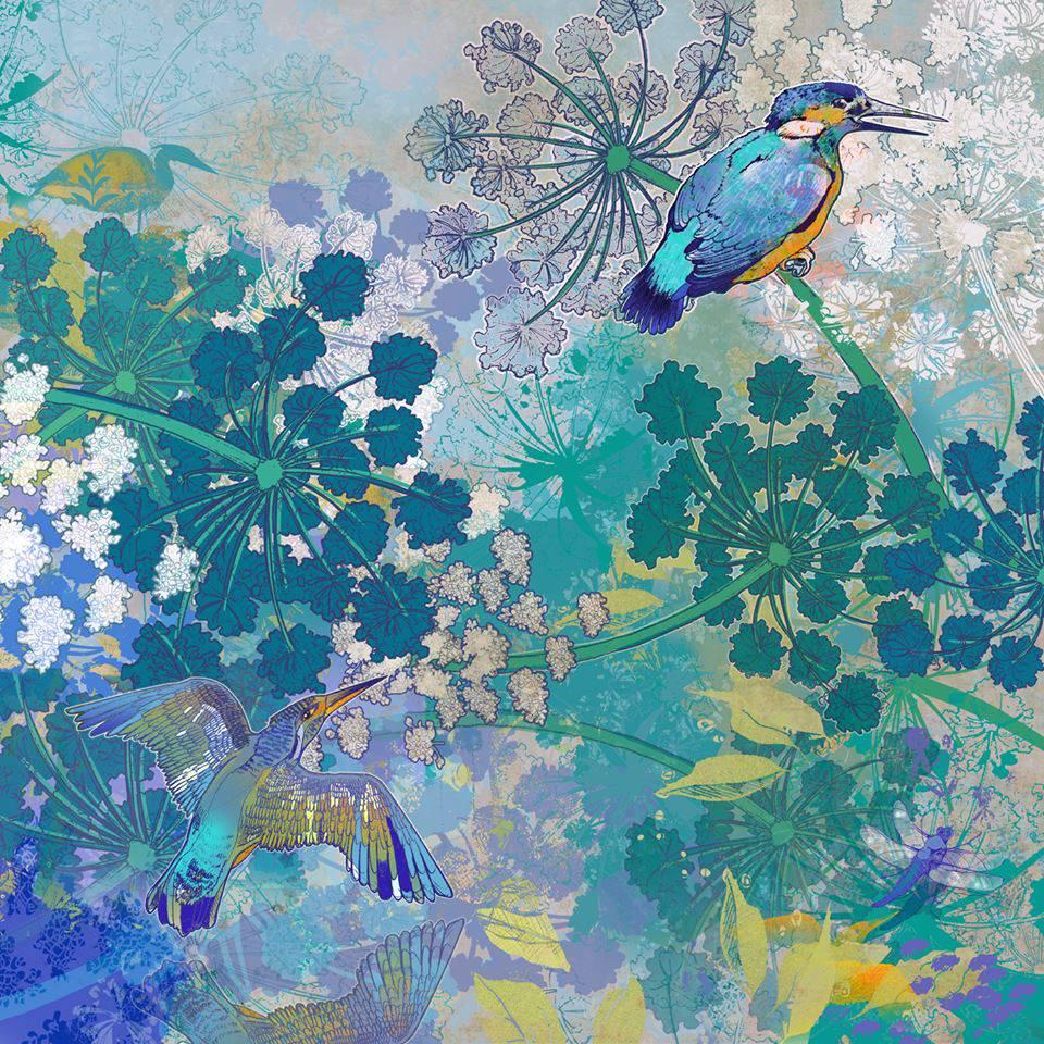 Image of Kingfishers Courtship
