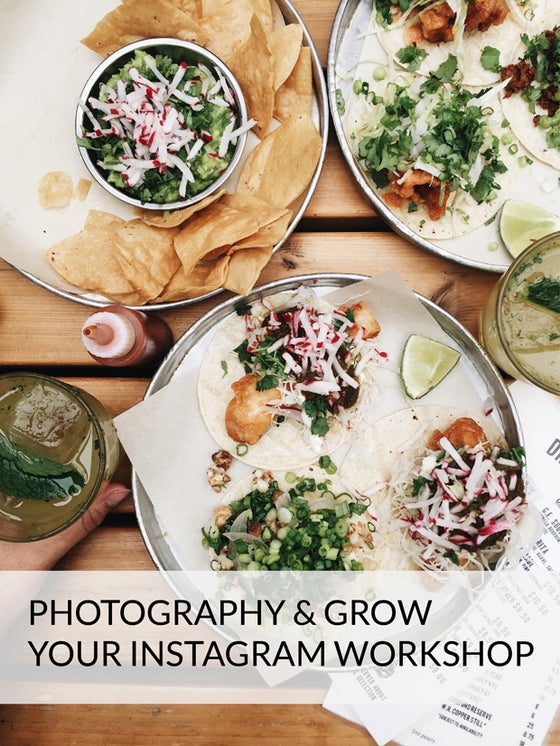 Image of Photography & How to Grow Your Instagram Workshop