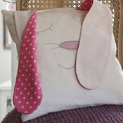 Image of Floppy Ears Bunny Cushion