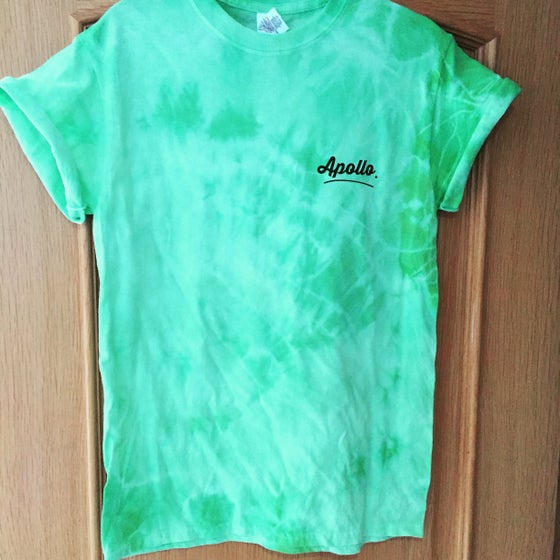 Image of Green tie dye