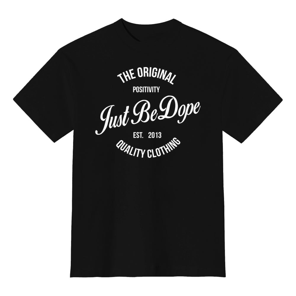 Image of Black JBD Original Positivity Tee
