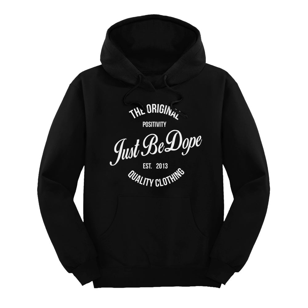 Image of Black Original JBD Hoodie
