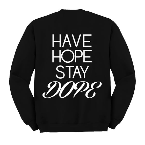 Image of Black JBD Hope Crewneck