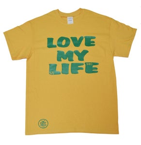 Image of Love My Life (Yellow and Green)