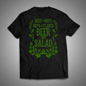 Image of Beer = Salad