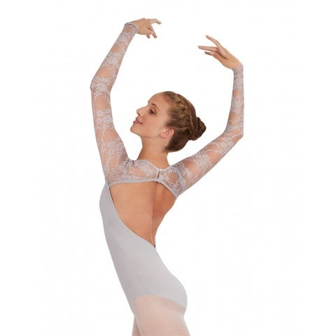 Image of Leotard - Long Sleeve with Lace