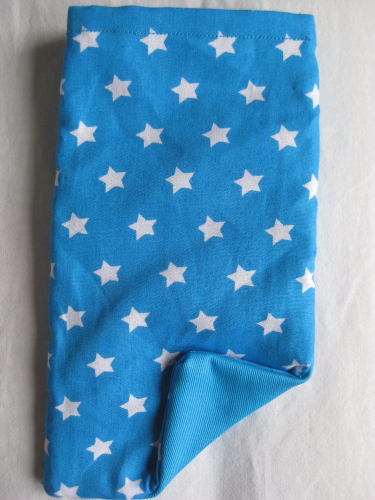 Image of Starry turquoise protective phone pouch