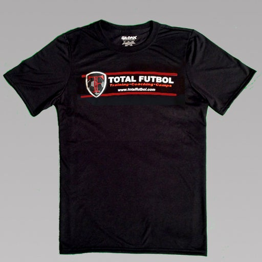 Image of Black Short-Sleeve TF Training Shirt