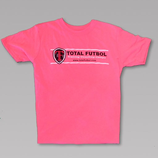 Image of Pink Short-Sleeve TF Training Shirt