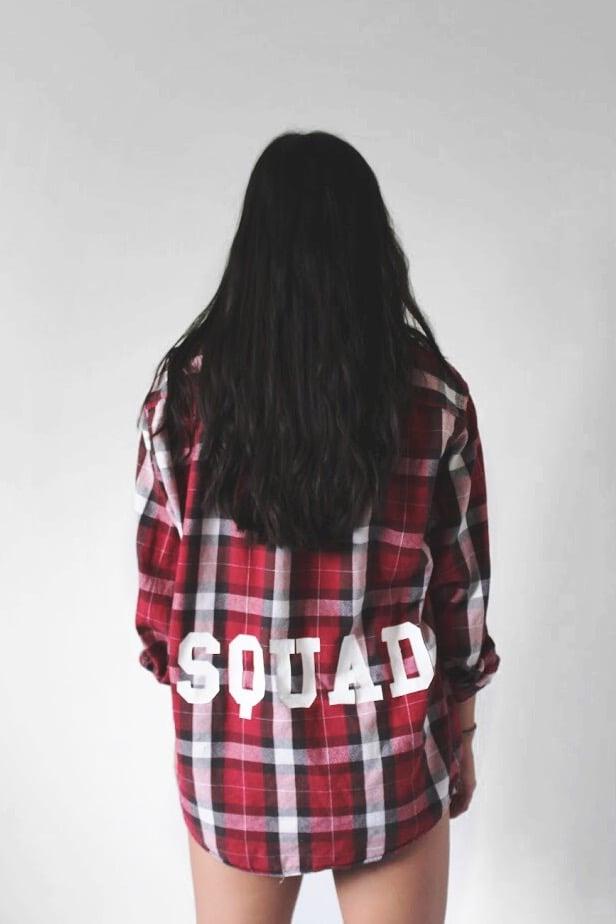Image of SQUAD Vintage Flannel