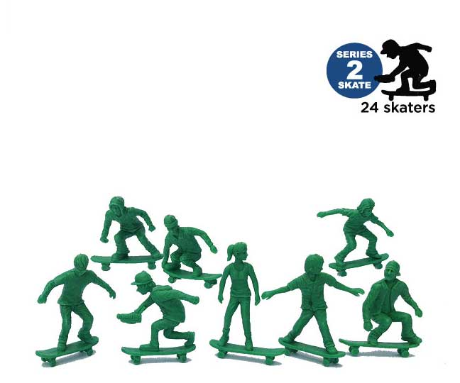 Image of AJ'S TOY BOARDERS - SKATE SERIES 2